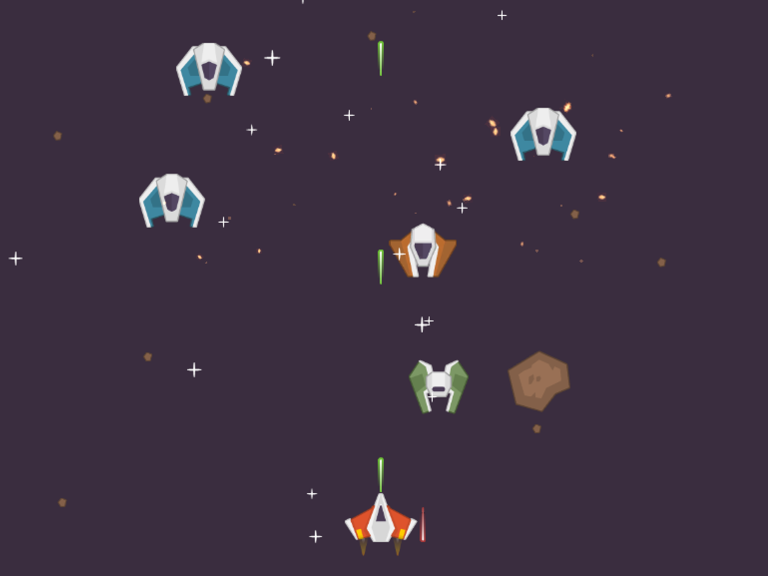 Space Shooter 2D - Unity - GaussToys Developers